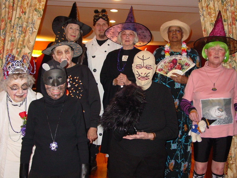halloween party at the rockwood retirement home in st louis - Halloween Parties In St Louis
