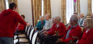 A-MEN Valentine's Day Concert at The Rockwood Senior living in Webster Groves