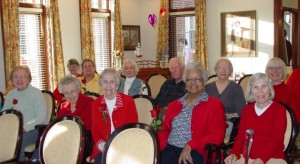 Valentine's Day Performance at The Rockwood Senior Living in Webster Groves