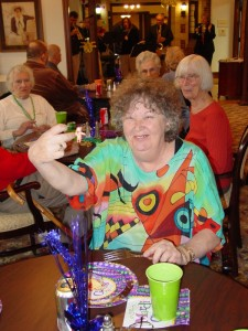 The Rockwood Senior Living Community's Mardi Gras Party 2013
