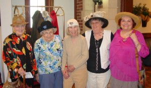 The Rockwood Senior Living in Webster Groves visits Sister's Tea Room