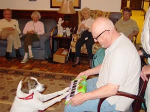 Alice the Thinking Dog visits The Rockwood.1