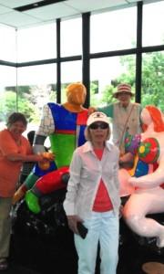 The Rockwood Residents visit Joe's Chili Bowl.1