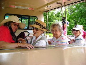 The Rockwood Residents of St. Louis Enjoy the Tram Ride