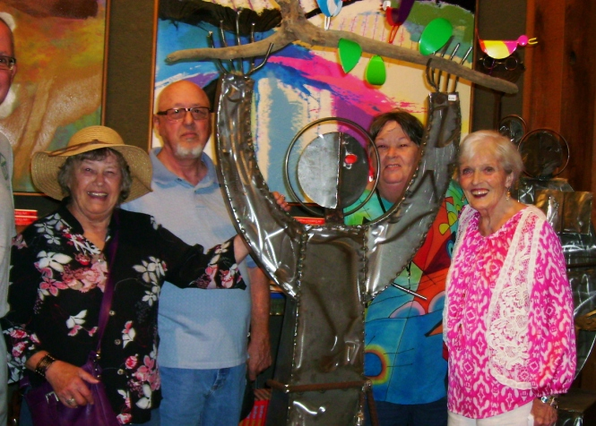 The Rockwood Residents of Webster Groves Visit the Marianist Gallery