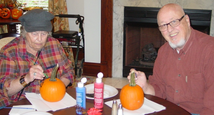 Pumpkin Painting at The Rockwood in St. Louis