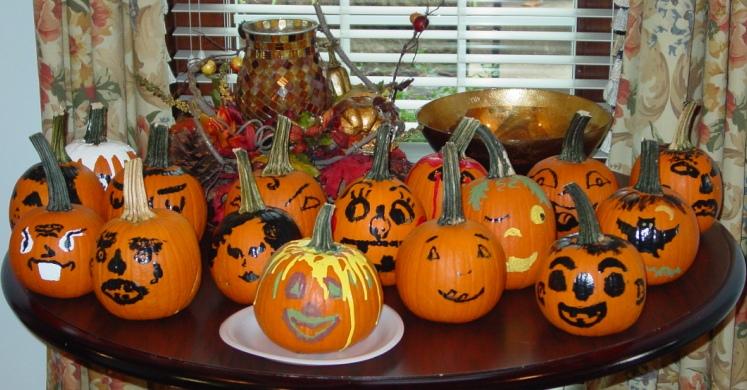 Pumpkins at The Rockwood Senior living in St. Louis